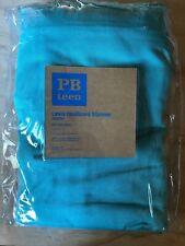 Pottery Barn PB Teen Bed Bath LEWIS HEADBOARD SLIPCOVER Full Aqua Turquoise NIP