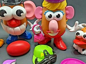 Mr. Potato Head & Friends Hasbro Playskool 2010 Classic Toys 38  pc. Set