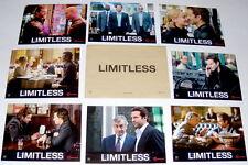 LiMiTLESS Bradley Cooper Robert De Niro Abbie Cornish 8 FRENCH LOBBY CARDs