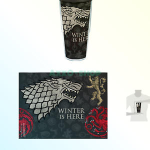 New Tervis Game of Thrones - House Stark Winter is Here Tumbler 24oz ____S151