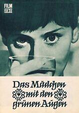Progress Filmprogramm Das Mädchen mit den grünen Augen