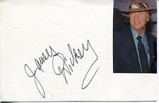 JAMES DICKEY AUTHOR / POET / NOVELIST DELIVERENCE SIGNED CARD AUTOGRAPH