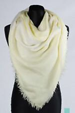 NWT! DIESEL SMIKAEL 0TACA Frayed Edges Square Style Scarf One Size  off white