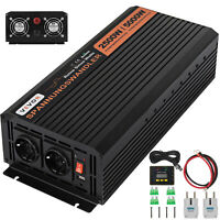Power Inverter 2500W 5000W 24V 220V Onda Sinusoidale Pura Convertitore Softstart