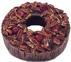 Jane Parker Chocolate Fruit Cake 32 Ounce (2Pound) Ring Fresh for 2021 FREE S/H