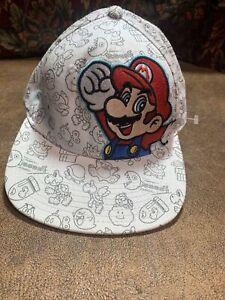 Super Mario Youth SnapBack Hat - Nintendo 2015