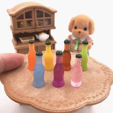 7Pcs Cocktails Cola Drink Wine Bottle Miniature Model Dollhouse Accessories Fine