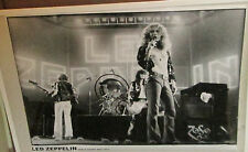 Led Zeppelin Poster Live New Never Opened Mid 2000'S Vintage Earls Court 1975