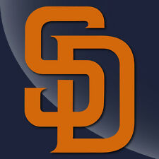 San Diego padres Single Color Decal Sticker - TONS OF OPTIONS