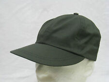 VINTAGE ARMY GREEN HAT BALL CAP FITTED SMALL SIZE  DEADSTOCK UNION MADE  #G-16)