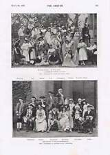 1895 Burlesque Company In India Bombay Trip To Scarborough Wj Pinchin Mr Philip