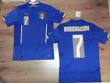 FW14 PUMA XL HOME ITALIA 7 BERLUSCONI MAGLIA MAGLIETTA MONDIALI SHIRT JERSEY