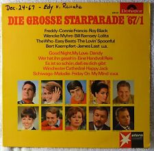 Die Grosse Starparade 67 German Hits LP VG+++ The Who Connie Francis Easybeats