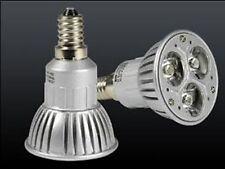 LAMPADA E14 E 14 FARETTO 3 LED LUCE BIANCO FREDDO 3W **
