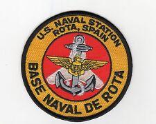 Base Naval De Rota - Rota, Spain BC Patch Cat No C6731