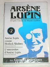 DVD ARSENE LUPIN N° 2 / GEORGES DESCRIERES / 2 EPISODES  / NEUF SOUS CELLO