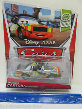 Disney PIXAR Cars World Grand Prix- WGP DARRELL CARTRIP with HEADSET diecast Car