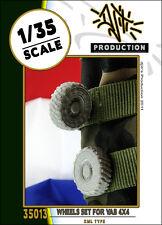Kit Résine Échelle 1/35-roues fixé pour vab 4x4 (résine de type XML) ensemble de mise à niveau
