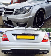 MERCEDES BENZ AMG C63 FULL CONVERSION WITH HEADLIGHTS FOR 07-12 W204 (C-CLASS)