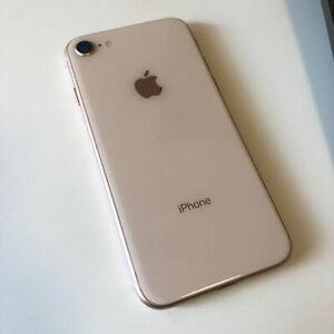 Apple iPhone 8 (Rose Gold - 32GB - (Unlocked) A1863 (CDMA + GSM) (AU Stock)