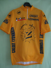 Maillot cycliste Jaune Vetements Enfants Z Greg Lemon 1990 Jersey - XL
