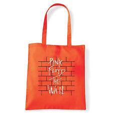 Art T-shirt, Borsa  Pink Floyd The Wall, Arancio, Shopper, Mare
