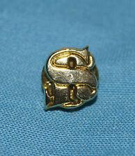 broche pin's SONIA RYKIEL SR en métal doré