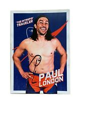 Wrestle Crate Exclusive Paul London Signed 8x10 WWE ROH