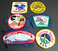 Vintage Lot of 6 Boy Scout Patches