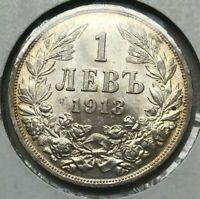 1913 Bulgaria Lev - Uncirculated