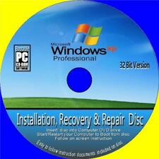 Windows XP Professional Installation Wiederherstellung Recovery Setup Reparatur Fix CD 32 Bit + SP3