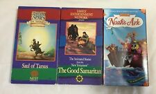 Animated Stories from the Bible. (3) VHS
