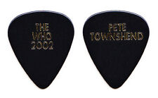 The Who Pete Townshend Black Guitar Pick #2 - 2002 Tour