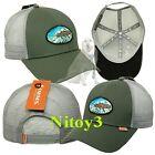 Simms Salmon Fly Patch Trucker Baseball Hat-Cap Men One Size