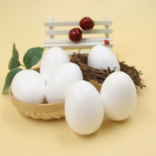 Handmade Gifts DIY Painting White Craft Balls Easter Party Decoration Foam Egg