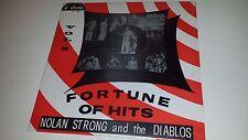 NOLAN STRONG & THE DIABLOS - FORTUNE OF HITS - DOO WOP SEALED LP VINYL