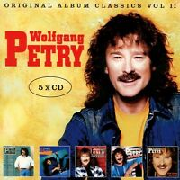 WOLFGANG PETRY - ORIGINAL ALBUM CLASSICS VOL.2 (2ND EDITION)  5 CD NEU