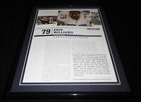 Erik Williams Framed 11x14 Photo Display Dallas Cowboys