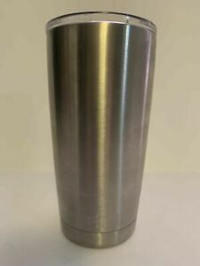 YETI 20 Oz Rambler Tumbler Cup With Lid - Stainless Steel