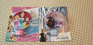 Kid's Night Light Disney Frozen 2  and Disney Princess LED Night Lights, NEW