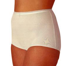 50d162f820 Fundamentals Women s 3-Pair Fuller Cut Elastic Leg White Cotton Briefs