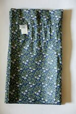 Laura Ashley Daisy Floral Window Valance, Blue/Green, 84X15