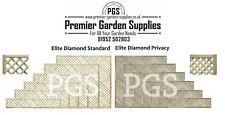 More details for elite diamond alderley trellis garden lattice climbing various sizes 1-4 treated