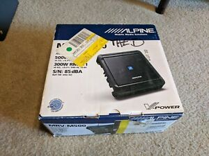 Alpine MRV-M500 Amplifier 500W Mono