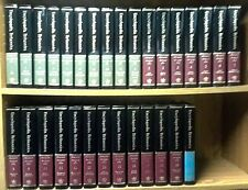 The New Encyclopedia Britannica 15th Ed 30 Vol Complete Set Padded Leather '84