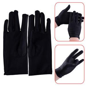 Pure Black Soft Liner Inner Thin Gloves Ski Bike Motorcycle Sport  Magic Show