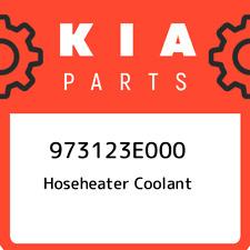 973123E000 Kia Hoseheater coolant 973123E000, New Genuine OEM Part