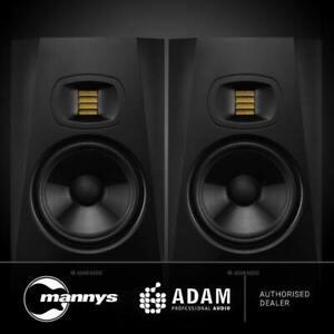 """ADAM T7V 2-Way 7"""" Nearfield Active Studio Monitors (Pair)"""