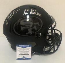 Fred Warner Signed Autographed San Francisco 49ers Black F/S Helmet Beckett COA4