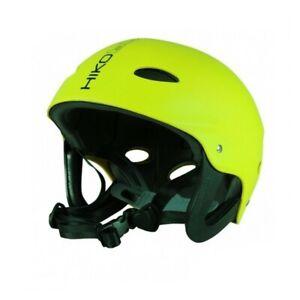Hiko Buckaroo Kajakhelm Wassersport Paddel Helm mit Ohrenschutz lime